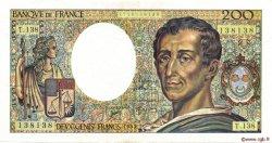 200 Francs MONTESQUIEU FRANCE  1992 F.70.12c TTB+