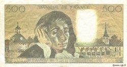 500 Francs PASCAL FRANCE  1988 F.71.38 TTB