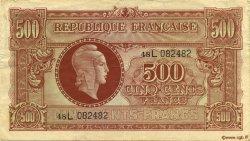 500 Francs FRANCE  1945 VF.11.01 TTB