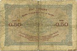 50 Centimes FRANCE  1920 VF.50.03 pr.B