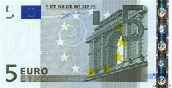 5 Euros PAYS-BAS  2002 €.100.06 NEUF