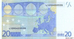 20 Euros FINLANDE  2002 €.120.01 SPL