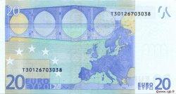 20 Euro EUROPE  2002 €.120.08 SPL