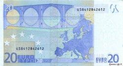 20 Euro EUROPE  2002 €.120.10 SUP