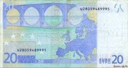 20 Euro EUROPE  2002 €.120.11 TB+