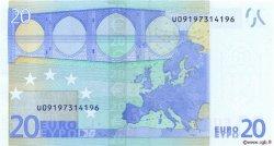 20 Euro EUROPE  2002 €.120.11 pr.NEUF