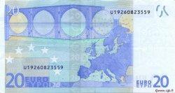 20 Euros FRANCE  2002 €.120.11 SUP