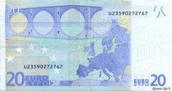 20 Euros FRANCE  2002 €.120.11 pr.SUP