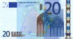 20 Euros ESPAGNE  2002 €.120.12 pr.NEUF