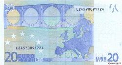 20 Euros FINLANDE  2002 €.120.20 NEUF