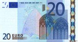20 Euro EUROPE  2002 €.120.22 SUP+
