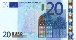 20 Euros IRLANDE  2002 €.120.25 SUP