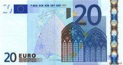 20 Euros IRLANDE  2002 €.120.25 pr.SPL