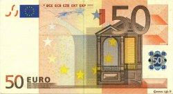 50 Euro EUROPE  2002 €.130.01 TTB+
