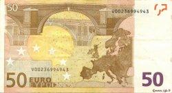 50 Euros ESPAGNE  2002 €.130.10 TTB