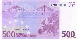 500 Euro EUROPE  2002 €.160.10 SPL