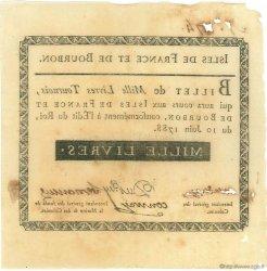 1000 Livres ISLES DE FRANCE ET BOURBON  1788 P.13 TTB