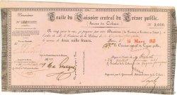 2000 Francs GUYANE  1843 P.-- TTB+
