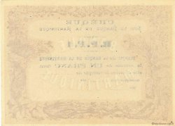 1 Franc MARTINIQUE  1870 P.05A NEUF