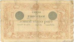 500 Francs MARTINIQUE  1910 P.09 pr.TB