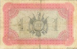 1 Franc MARTINIQUE  1915 P.10 TB