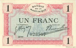 1 Franc MARTINIQUE  1915 P.10 SPL