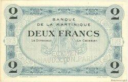 2 Francs MARTINIQUE  1915 P.11s NEUF
