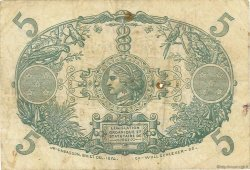 5 Francs Cabasson violet MARTINIQUE  1946 P.06C TB