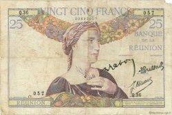 25 Francs type 1927 ÎLE DE LA RÉUNION  1944 P.23 pr.TB