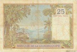 25 Francs type 1927 GUADELOUPE  1944 P.14 TB