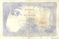 100 Francs ÎLE DE LA RÉUNION  1944 P.24 TTB