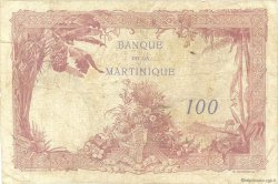 100 Francs type 1927 MARTINIQUE  1945 P.13 TB