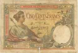 500 Francs MARTINIQUE  1945 P.14 B