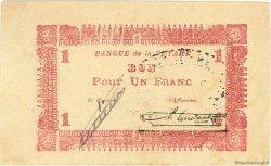 1 Franc type 1942 GUYANE  1942 P.11 TTB