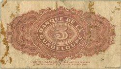 5 Francs type Américain GUADELOUPE  1945 P.21 AB