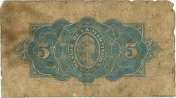 5 Francs MARTINIQUE  1942 P.16b AB