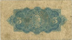 5 Francs MARTINIQUE  1942 P.16b B