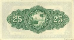 25 Francs type Américain MARTINIQUE  1945 P.17 SUP