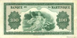 100 Francs MARTINIQUE  1944 P.19a TTB+