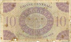10 Francs MARTINIQUE  1944 P.23 B