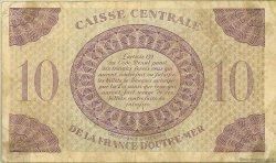 10 Francs type Anglais GUADELOUPE  1944 P.27a TB