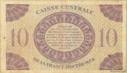 10 Francs GUADELOUPE  1944 P.27a B+