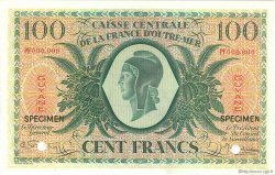 100 Francs type Anglais GUYANE  1944 P.17s pr.SPL