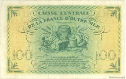 100 Francs type Anglais MARTINIQUE  1944 P.25 pr.TTB