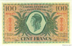 100 Francs MARTINIQUE  1944 P.25 SUP à SPL