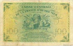 100 Francs type Anglais GUADELOUPE  1944 P.29a TB