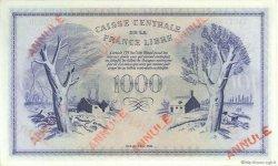 1000 Francs type 1943 Anglais, phénix MARTINIQUE  1944 P.22b pr.NEUF