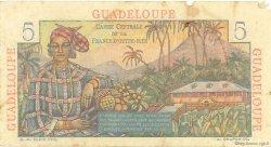 5 Francs Bougainville GUADELOUPE  1946 P.31 TB