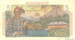 5 Francs Bougainville GUADELOUPE  1946 P.31 SUP+