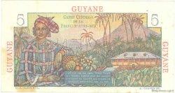 5 Francs Bougainville GUYANE  1946 P.19s pr.SUP